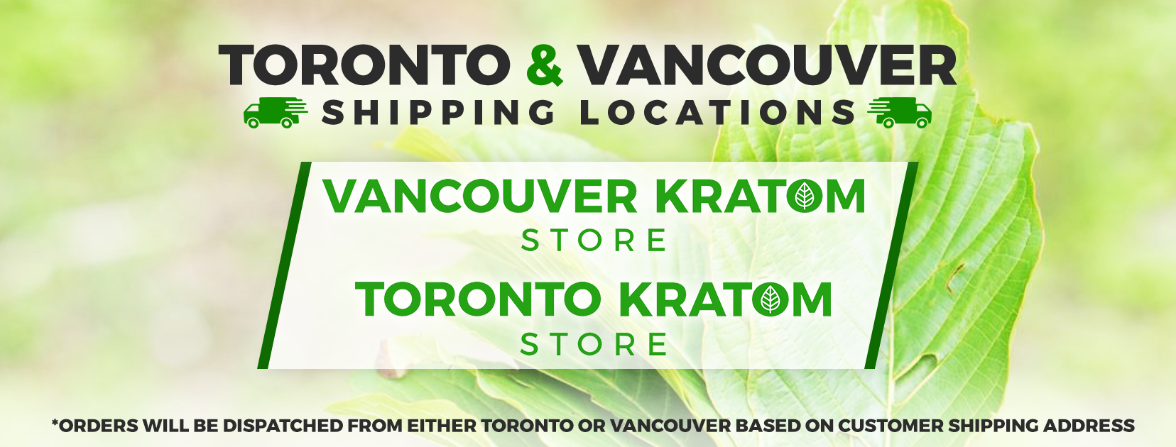 Canada Kratom Store Shipping Locations